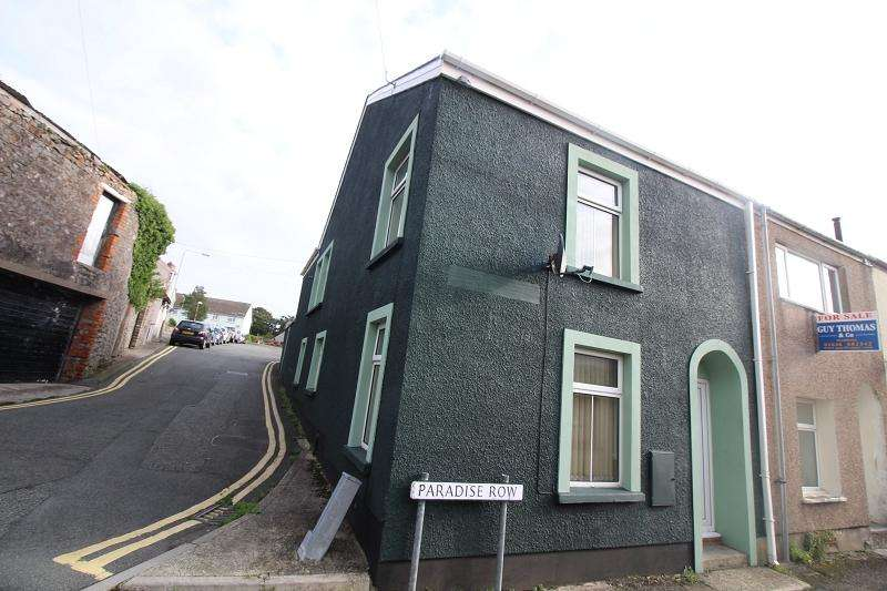 3 Bedrooms End Of Terrace House for sale in Paradise Row, Pembroke, Pembrokeshire. SA71 4NX