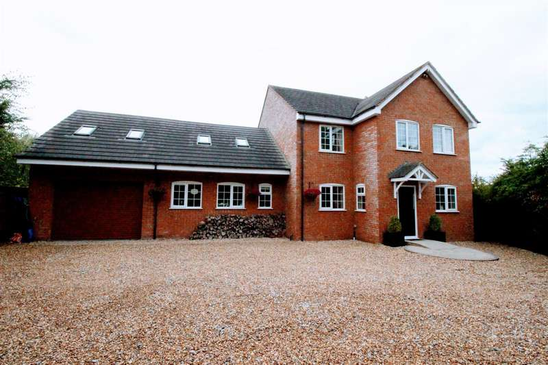 6 Bedrooms Detached House for sale in Braydon, Nr Royal Wootton Bassett