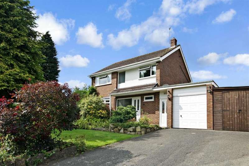 4 Bedrooms Detached House for sale in Oerley Way, Oswestry