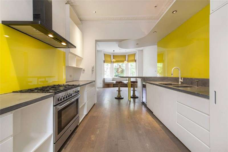 5 Bedrooms Terraced House for rent in Maida Avenue, Little Venice, London