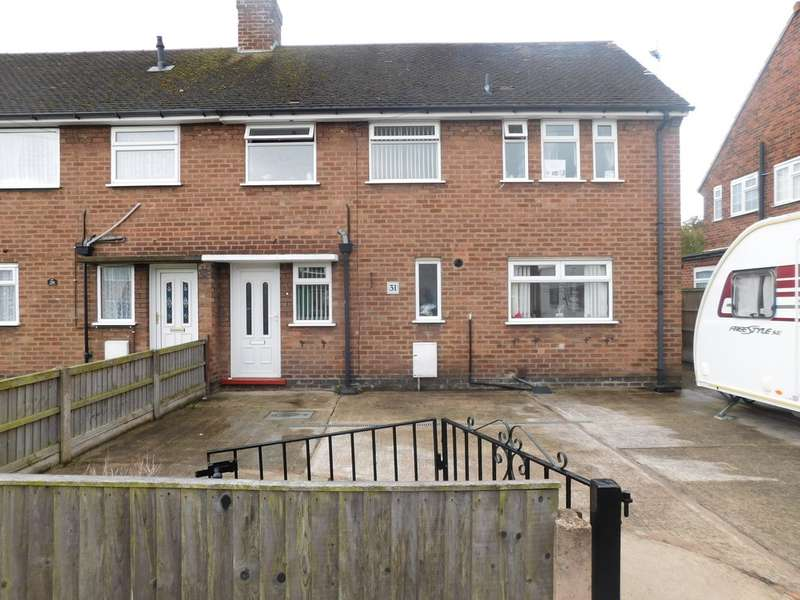 3 Bedrooms Semi Detached House for sale in King John's Road, Clipstone Village NG21