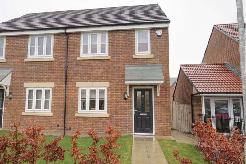 2 Bedrooms Semi Detached House for sale in Queen Elizabeth Drive, Consett, DH8