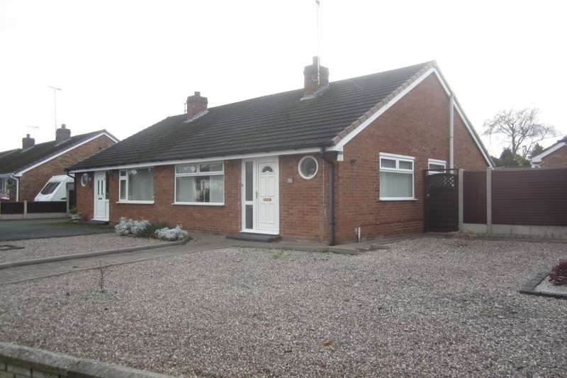2 Bedrooms Semi Detached Bungalow for sale in Broughton Lane, Wistaston, Crewe, CW2