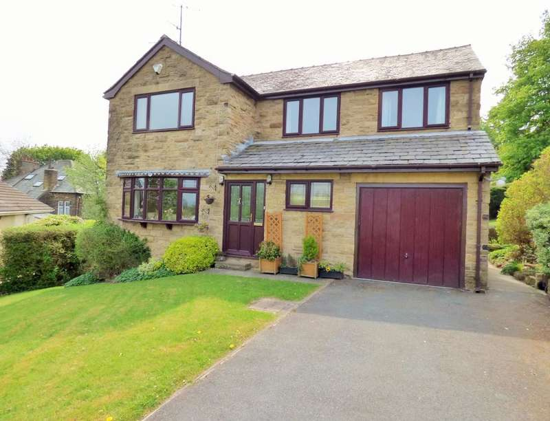 4 Bedrooms Detached House for sale in Aireville Rise, Bradford, BD9