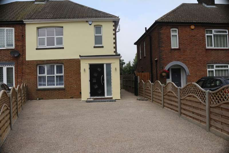 3 Bedrooms Semi Detached House for sale in Cannon Lane, Luton, LU2