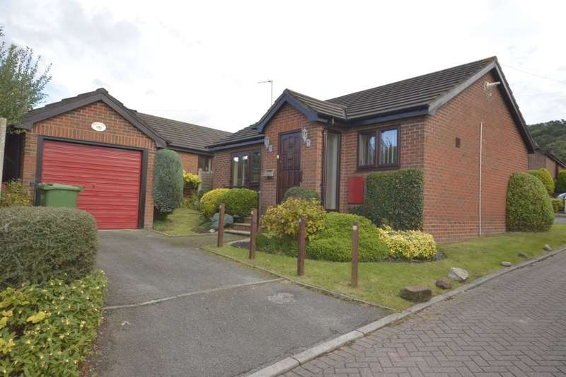 2 Bedrooms Detached Bungalow for sale in Wroxham Close, Helsby, Frodsham, WA6