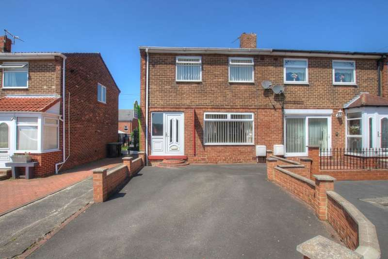 2 Bedrooms Semi Detached House for sale in Lynn Crescent, Cassop, Durham, DH6
