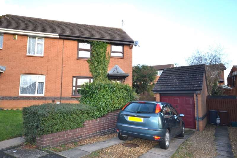 3 Bedrooms Semi Detached House for rent in Rushy End, East Hunsbury, Northampton, NN4