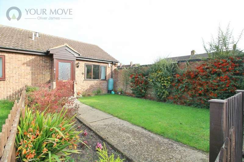 1 Bedroom Semi Detached Bungalow for sale in Russet Close, Beccles, NR34