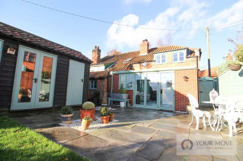 2 Bedrooms Semi Detached House for sale in Bergh Apton Road, Mundham, Norwich, NR14