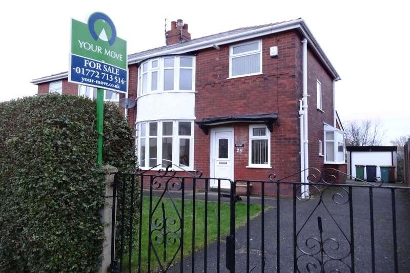 3 Bedrooms Semi Detached House for sale in Elm Avenue, Ashton-On-Ribble, Preston, PR2