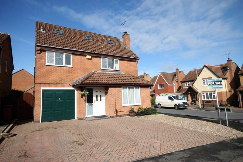 5 Bedrooms Detached House for sale in Newquay Close , Hinckley LE10