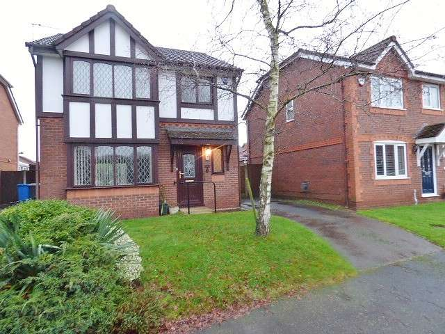 3 Bedrooms Detached House for sale in Harrogate Close, Great Sankey, Warrington