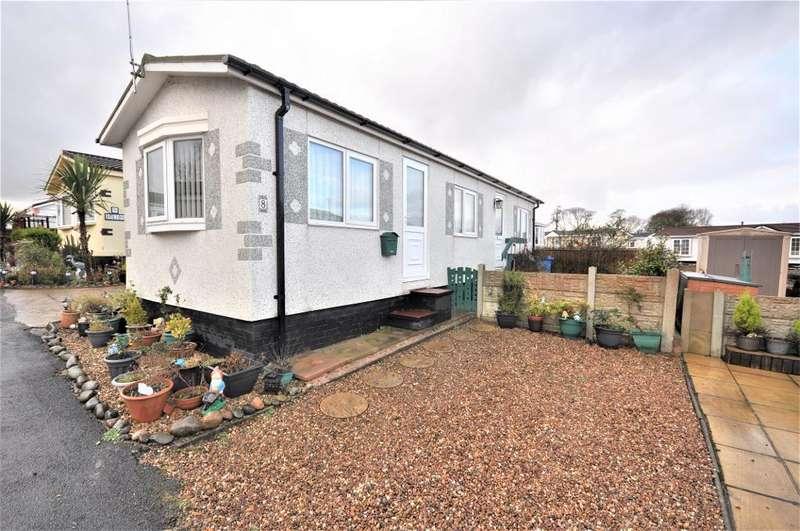 1 Bedroom Park Home Mobile Home for sale in Westend Residential Park, Kirkham, Preston, Lancashire, PR4 2RF