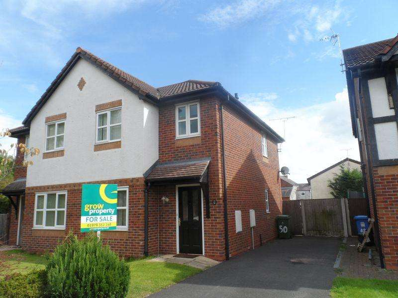3 Bedrooms Semi Detached House for sale in Tegid Drive, Wrexham