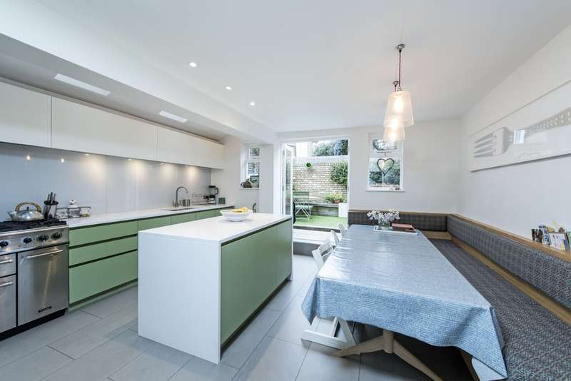 5 Bedrooms Terraced House for sale in Chatto Road, Battersea, London