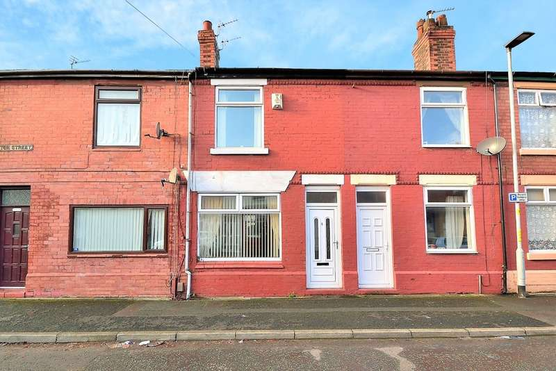 2 Bedrooms Terraced House for sale in Grafton Street, Whitecross, Warrington