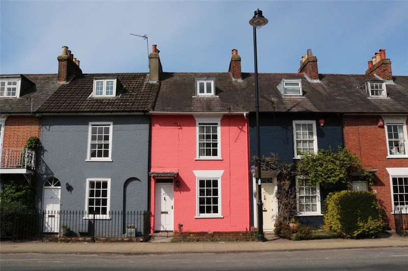 4 Bedrooms Terraced House for sale in Southampton Road, Lymington, Hampshire, SO41