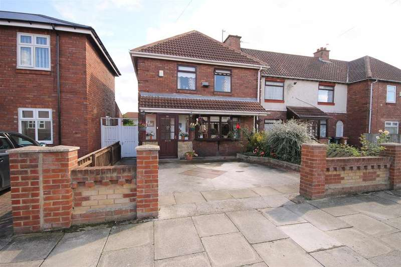 3 Bedrooms End Of Terrace House for sale in Tristram Avenue