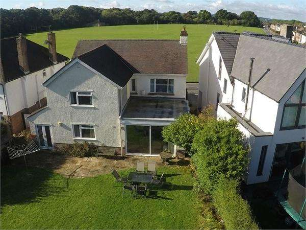5 Bedrooms Detached House for sale in King George V Drive North, Heath, Cardiff