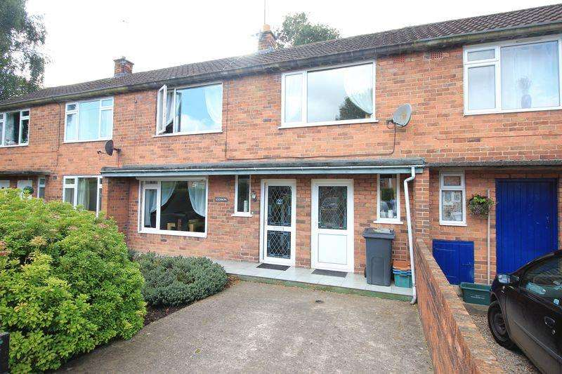 2 Bedrooms Terraced House for sale in Hawthorn Grove, Oswestry