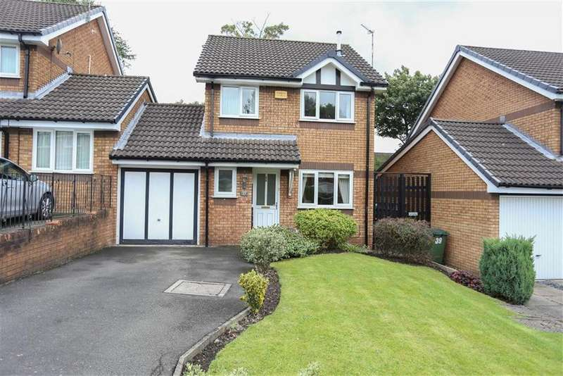 3 Bedrooms Link Detached House for sale in Marlcroft Avenue, Heaton Norris