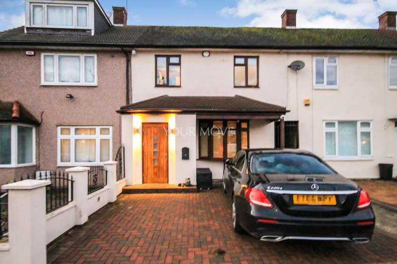 3 Bedrooms Property for sale in St. Neots Road, Harold Hill, Romford, RM3