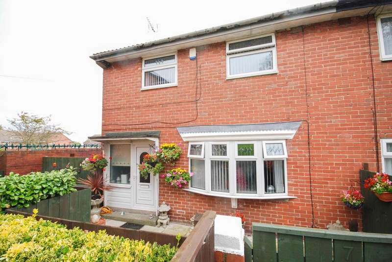 2 Bedrooms Semi Detached House for sale in Wallinfen, Leam Lane