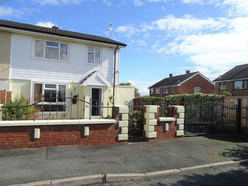 3 Bedrooms Semi Detached House for sale in Bromfield Avenue, Wrexham