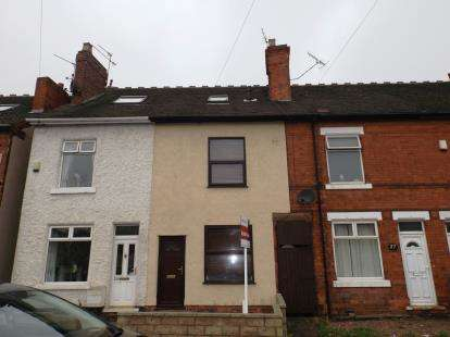 3 Bedrooms Terraced House for sale in Papplewick Lane, Hucknall, Nottingham, Nottinghamshire