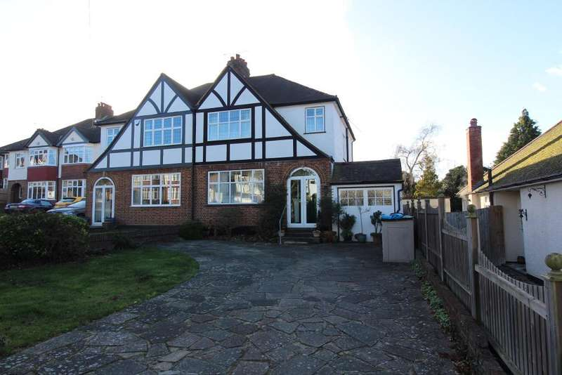 3 Bedrooms Semi Detached House for sale in Charterhouse Road, Orpington, Kent, BR6 9EL