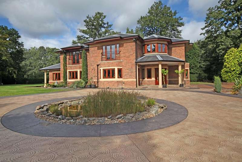 5 Bedrooms Detached House for sale in West Drive, Wentworth