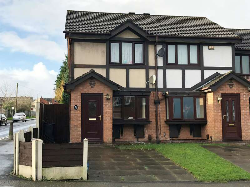 2 Bedrooms Town House for sale in Presto Street, Farnworth, Bolton, BL4 7RB
