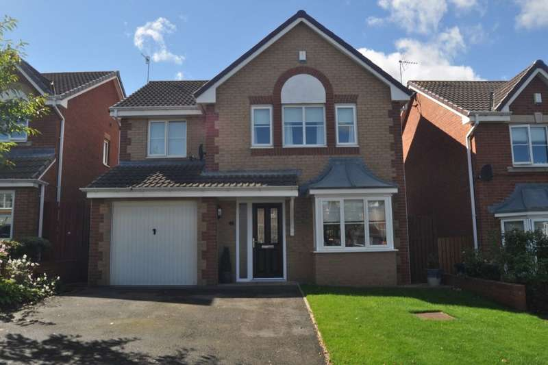 4 Bedrooms Detached House for sale in Hovingham Drive, Guisborough, TS14