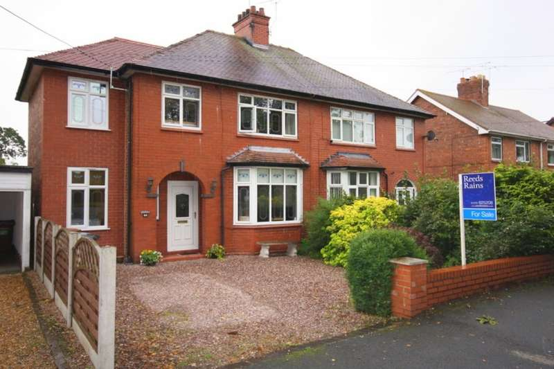 3 Bedrooms Semi Detached House for sale in Coppice Road, Willaston, Nantwich, CW5