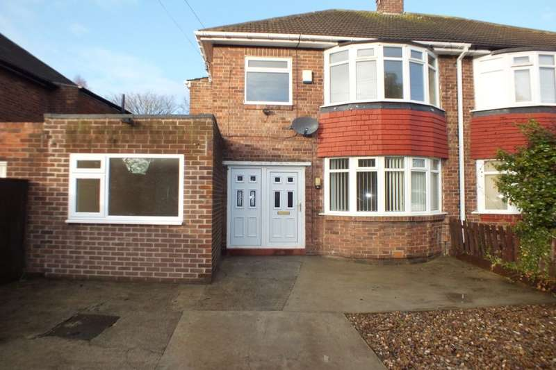 4 Bedrooms Semi Detached House for sale in Silver Lonnen, Newcastle Upon Tyne, NE5