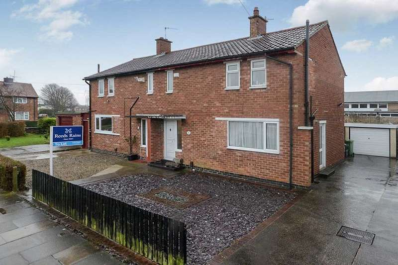 2 Bedrooms Semi Detached House for rent in Wharfe Drive, York, YO24