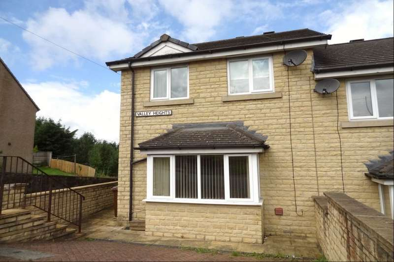3 Bedrooms Semi Detached House for sale in Valley Heights Windy Bank, Colne, BB8