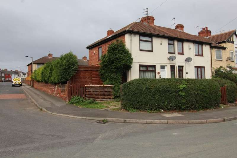 3 Bedrooms Terraced House for sale in Wellington Road, Edlington, Doncaster, DN12