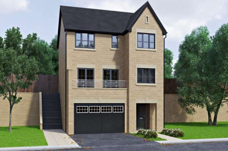 4 Bedrooms Detached House for sale in Oakland Rise Lower Cribden Avenue, Rossendale, BB4
