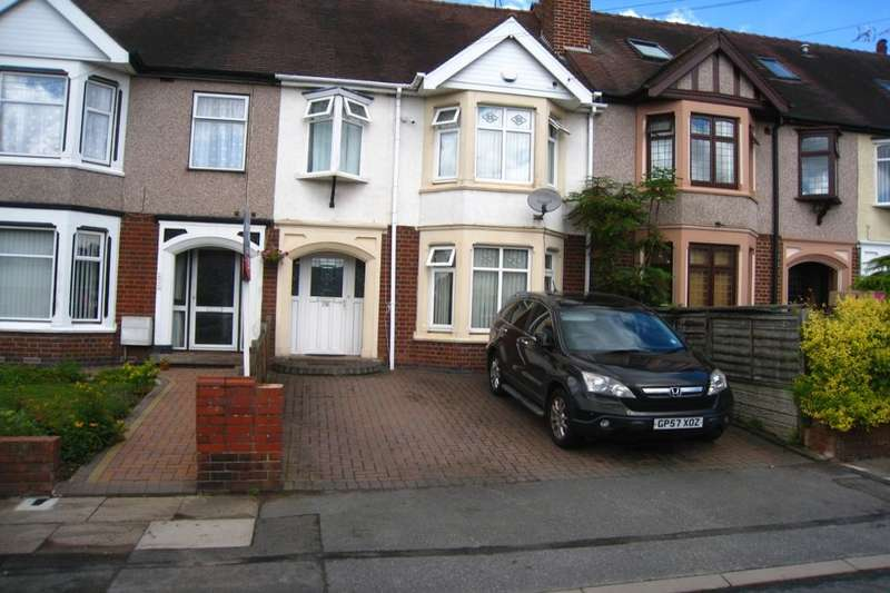 3 Bedrooms Terraced House for sale in Wainbody Avenue South, Coventry, CV3