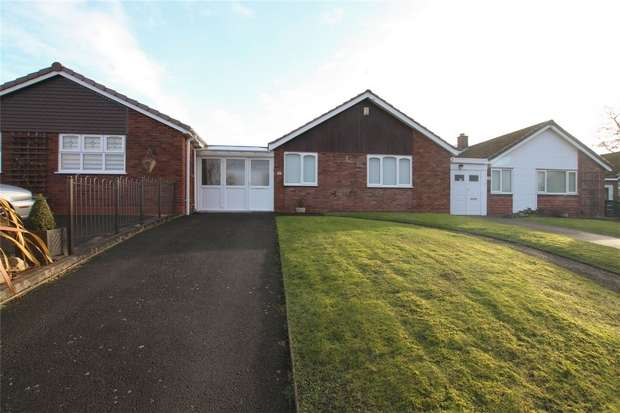 2 Bedrooms Terraced Bungalow for sale in Stowe Croft, Lichfield, Staffordshire