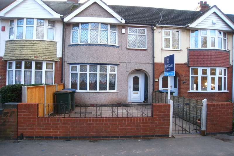 3 Bedrooms Terraced House for sale in Bridgeman Road, Radford, Coventry, CV6