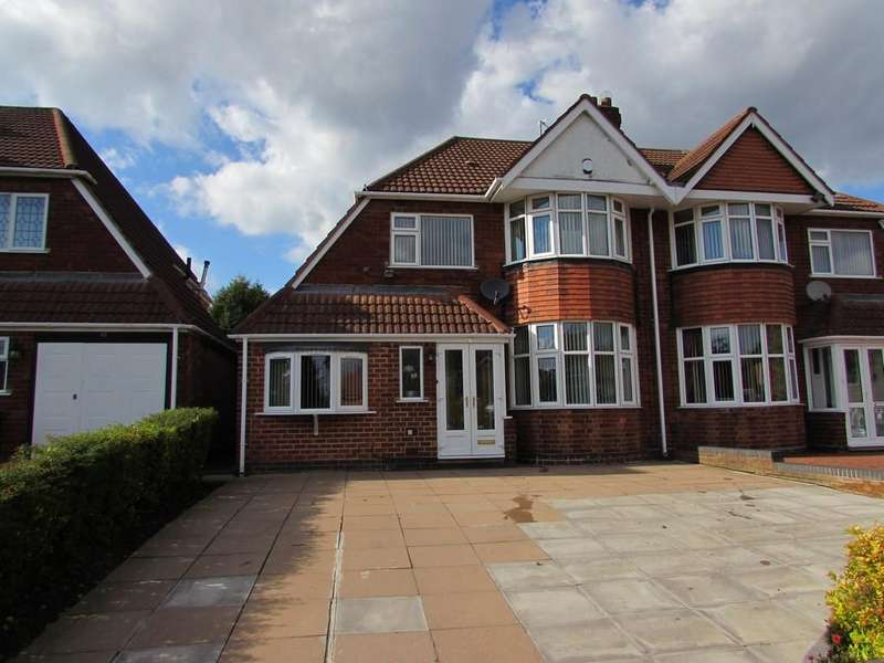 3 Bedrooms Semi Detached House for sale in Keswick Road, Solihull