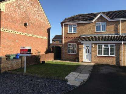 3 Bedrooms Semi Detached House for sale in Whittle Close, Boston, Lincs, England