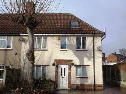 4 Bedrooms End Of Terrace House for sale in Lucas Road, Chesterfield, Derbyshire