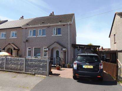 3 Bedrooms Semi Detached House for sale in Bowland Road, Heysham, Morecambe, Lancashire, LA3