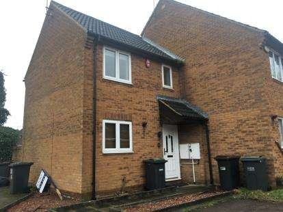 2 Bedrooms End Of Terrace House for sale in Lucas Gardens, Luton, Bedfordshire