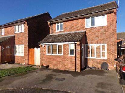 4 Bedrooms Detached House for sale in Normandy Close, Kempston, Bedford, Bedfordshire