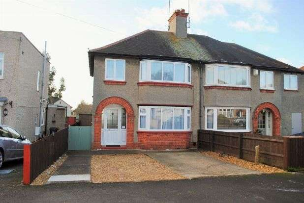 3 Bedrooms Semi Detached House for sale in Foxgrove Avenue, Kingsthorpe, Northampton NN2 8HG